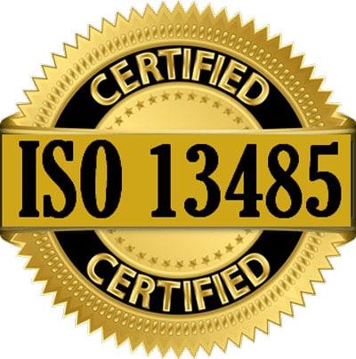 прохождения сертификации ИСО 13485 и ИСО 9001
